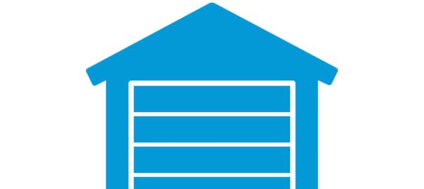 blu garage icon